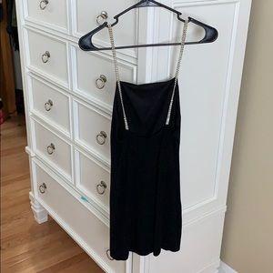 Forever 21 Dresses - Black sparkled mini dress